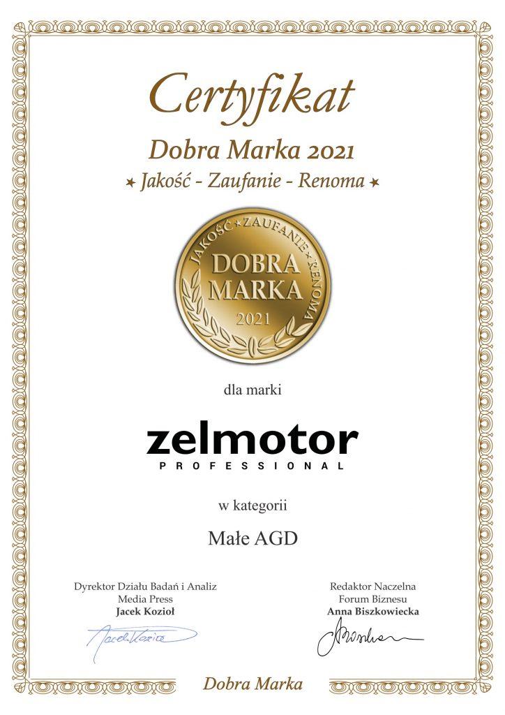 Zelmotor DM 2021